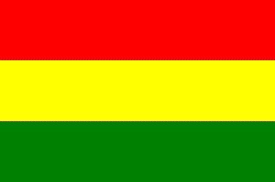 Bolivien ohne Wappen ca. 100 cm x 150 cm