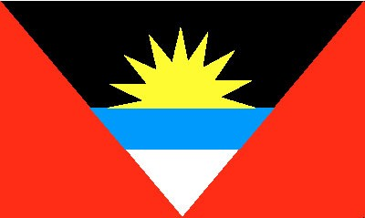 Antigua Gastlandflagge