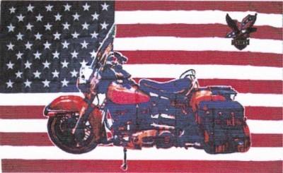 USA mit Harley Davidson (verschiedene Motive)