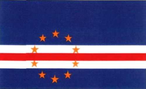 Kapverdische Inseln Gastlandflagge
