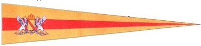 Baden mit Wappen Wimpel