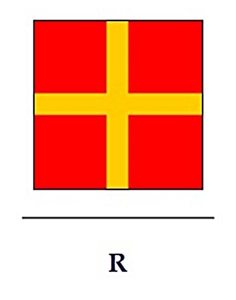 Signalflagge R