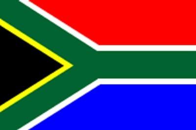 Südafrika Gastlandflagge