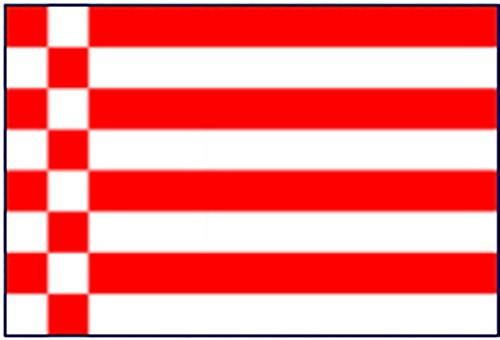 Bremen ohne Wappen Gastlandflagge