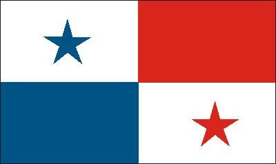 Panama Gastlandflagge
