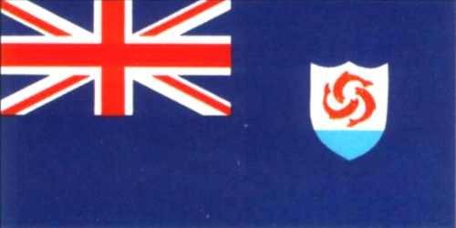 Anguilla Gastlandflagge