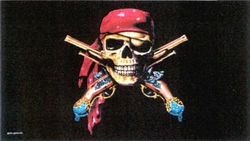 Pirat mit 2 Pistolen - Fluch der Karibik