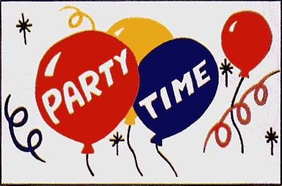 Partytime (mit Luftballons)