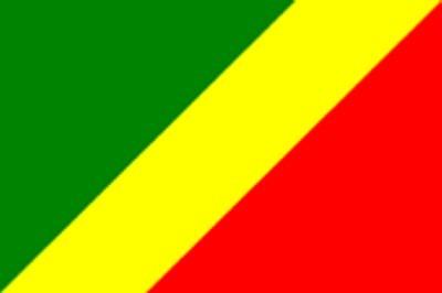 Kongo Brazzaville ca. 100 cm x 150 cm