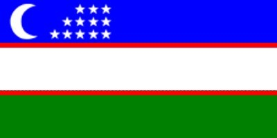 Usbekistan ca. 100 cm x 150 cm