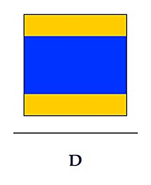 Signalflagge D