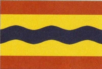 Overijssel (niederländische Provinz) Gastlandflagge