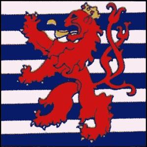 Luxemburg Handel ca. 100 cm x 150 cm
