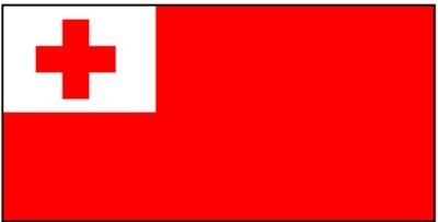Tonga Gastlandflagge