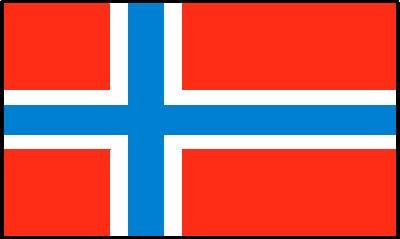 Norwegen Gastlandflagge