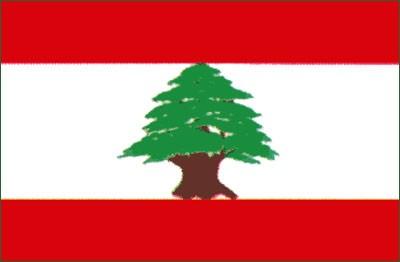 Libanon Gastlandflagge