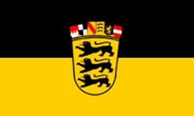 Baden - Württemberg Gastlandflagge