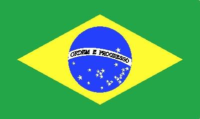 Brasilien Gastlandflagge