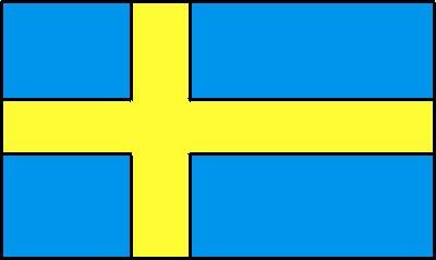 Schweden ca. 100 cm x 150 cm