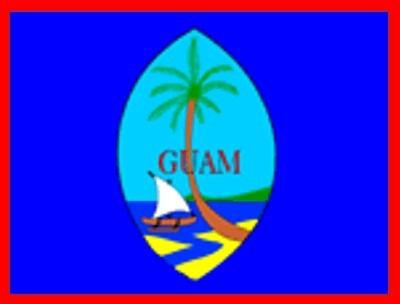 Guam ca. 100 cm x 150 cm