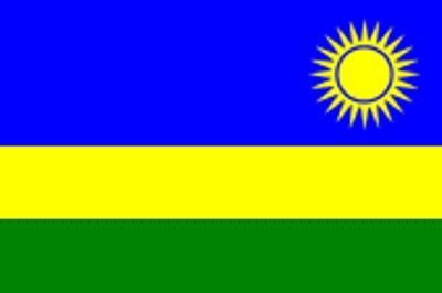 Ruanda ca. 100 cm x 150 cm
