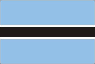 Botswana ca. 100 cm x 150 cm