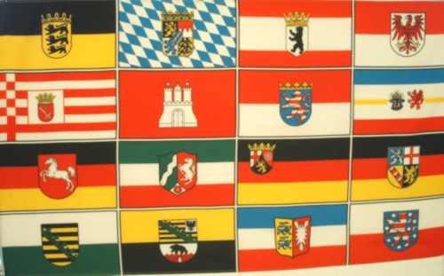 Deutschland - 16 Bundesländer