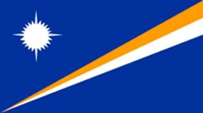 Marshall Inseln Gastlandflagge