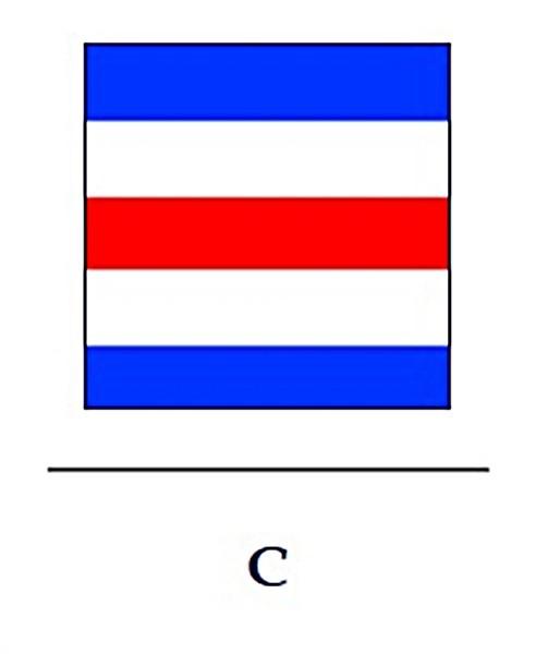 Signalflagge C
