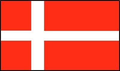 Dänemark Gastlandflagge
