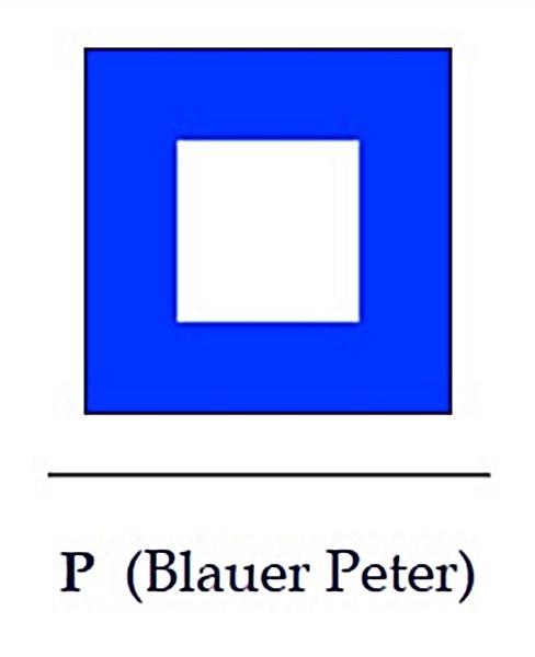 Signalflagge P