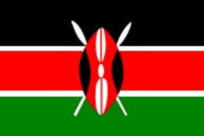 Kenia Gastlandflagge
