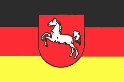 Niedersachsen Gastlandflagge