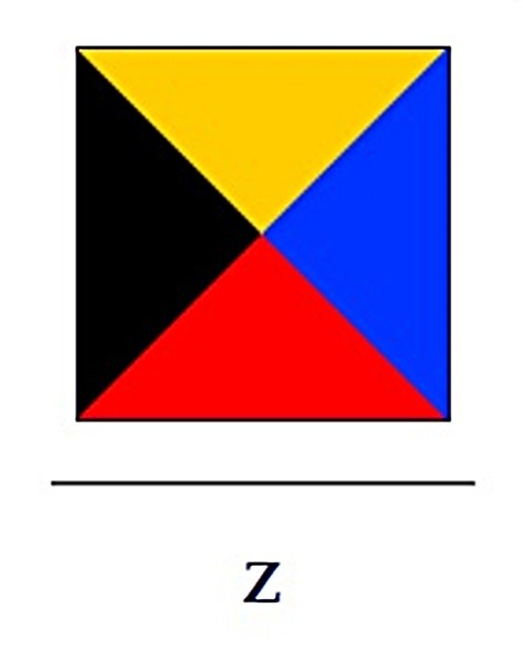 Signalflagge Z