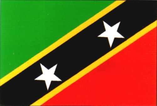 St. Kitts & Nevis - St. Christopher & Nevis ca. 100 cm x 150