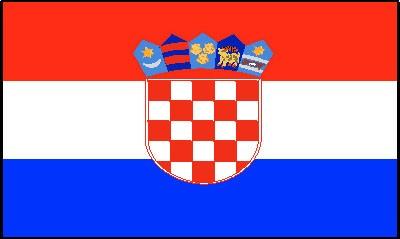 Kroatien Gastlandflagge