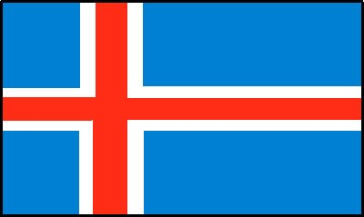 Island Gastlandflagge