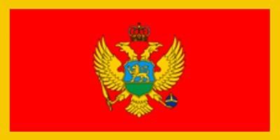Montenegro Gastlandflagge