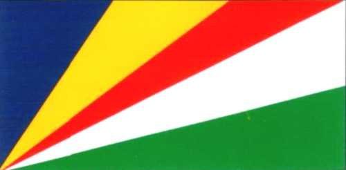 Seychellen (seit 1977) ca. 100 cm x 150 cm