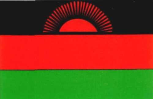 Malawi Gastlandflagge