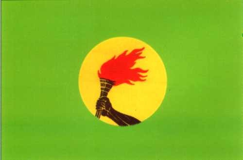 Zaire Gastlandflagge