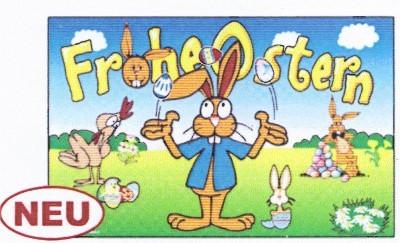 Ostern (mit jonglierendem Hasen)