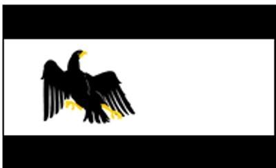 Preußen: Landesdienstflagge 1920 - 1947