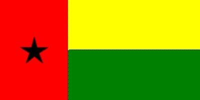 Guinea-Bissau ca. 100 cm x 150 cm