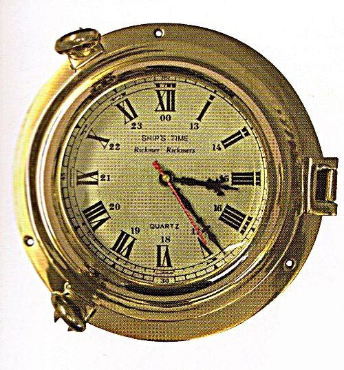 Bullaugenuhr, d = ca. 24 cm