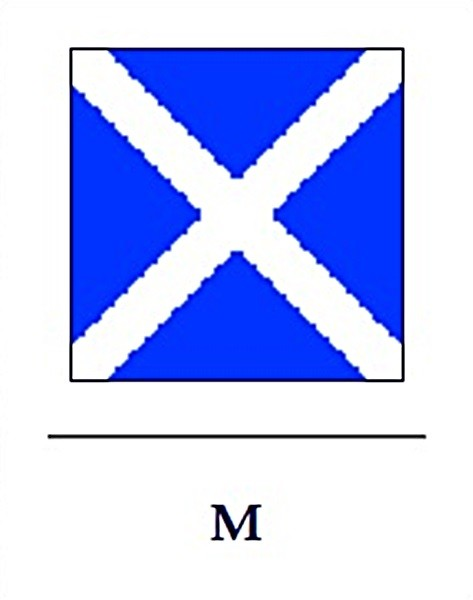 Signalflagge M