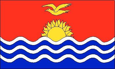 Kiribati ca. 100 cm x 150 cm