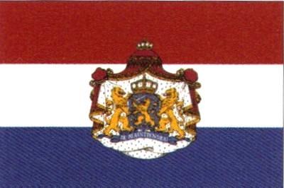 Niederlande mit Wappen