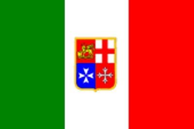 Italien Handel Gastlandflagge