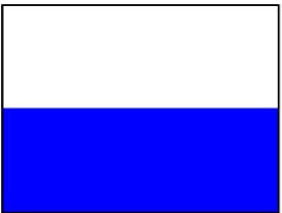 San Marino ohne Wappen ca. 100 cm x 150 cm